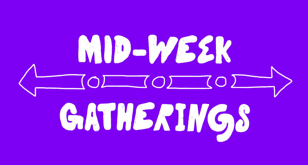 Midweek Gathering Online image