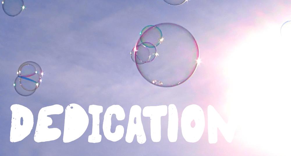 Dedication image